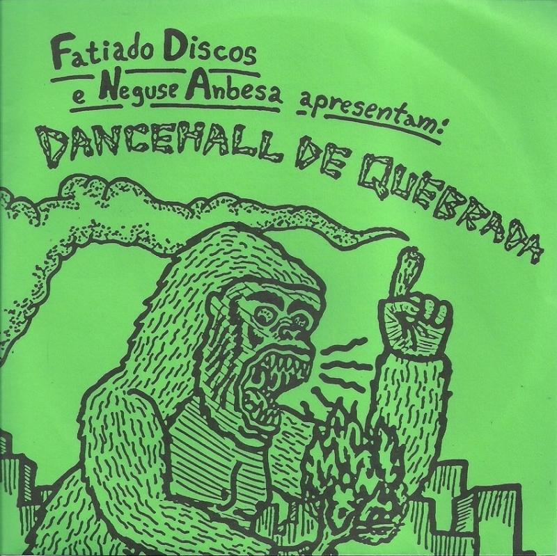 LP Dancehala De Quebrada - VINYL COMPACTO 7 POLEGADAS