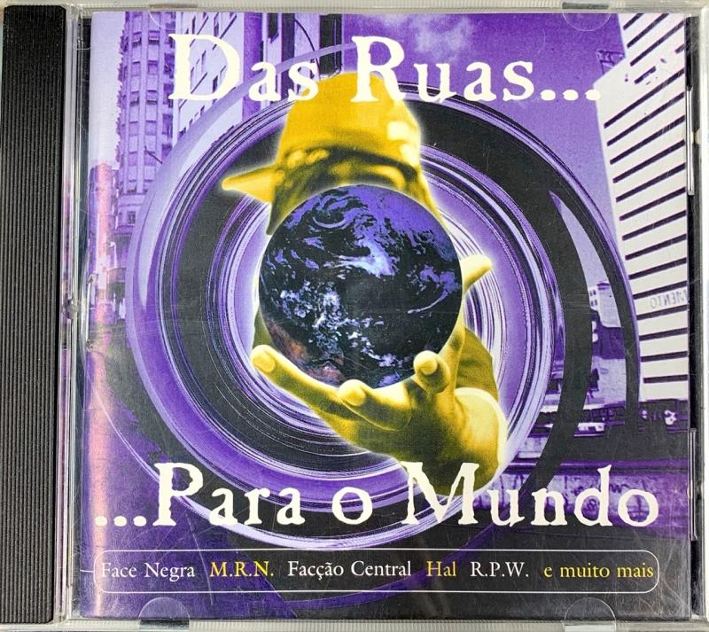 Da Rua para O Mundo - COLETANEA RAP NACIONAL (CD)