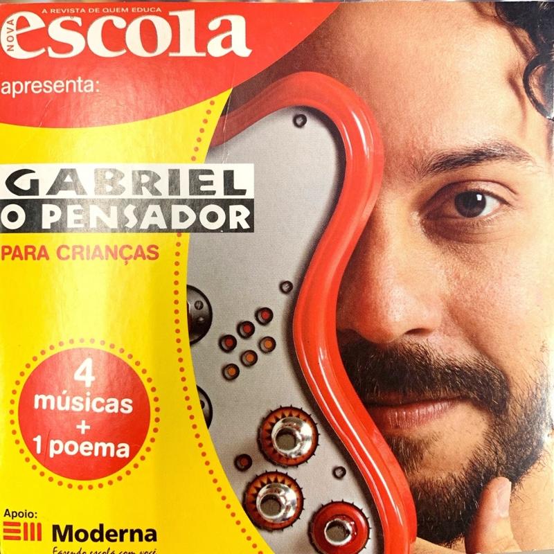 GABRIEL O PENSADOR 4 MUSICAS 1 POEMA (CD)