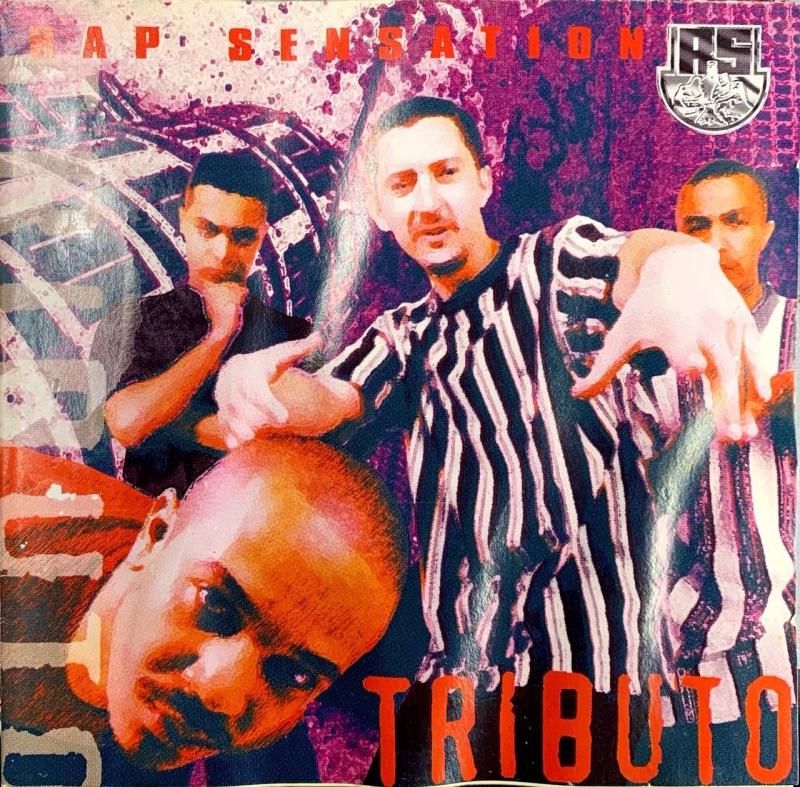 Rap Sensation - Tributo CD usado