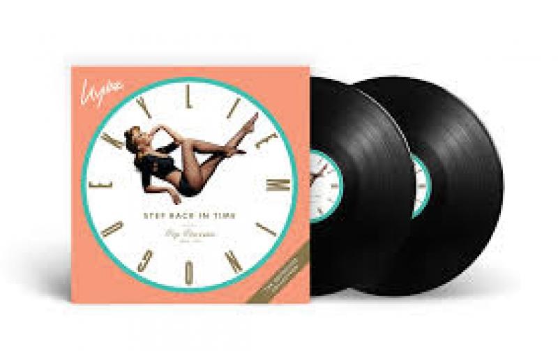 LP Kylie - Step Back In Time The Definitive Collection VINYL DUPLO IMPORTADO LACRADO
