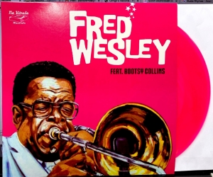 LP FRED WESLEY FEAT BOOTSY COLLINS - FUNK SCHOOL THE BIG PAYBACK LP 7 POLEGADA
