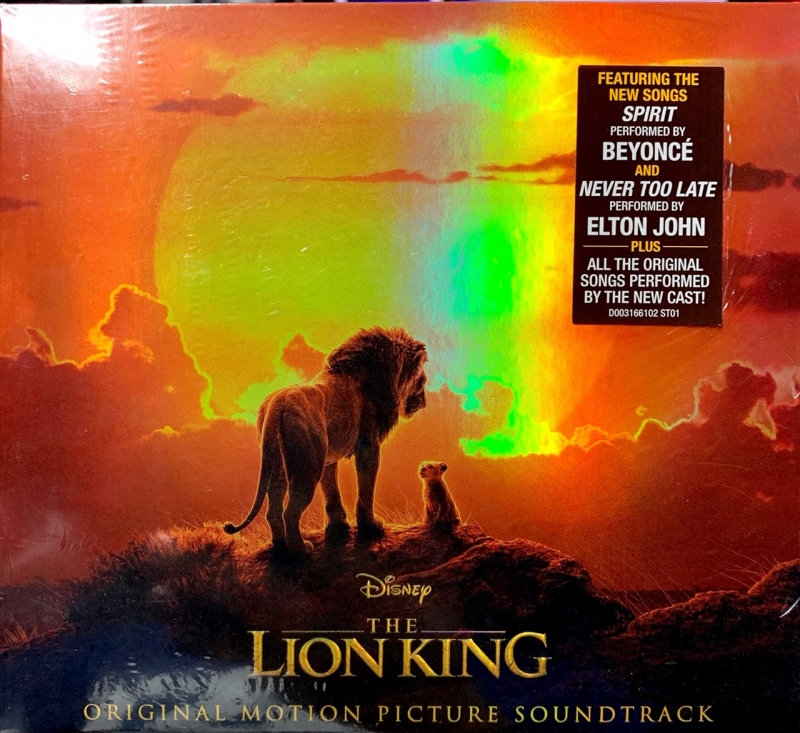 The Lion King 2019 soundtrack BEYONCE (CD) IMPORTADO