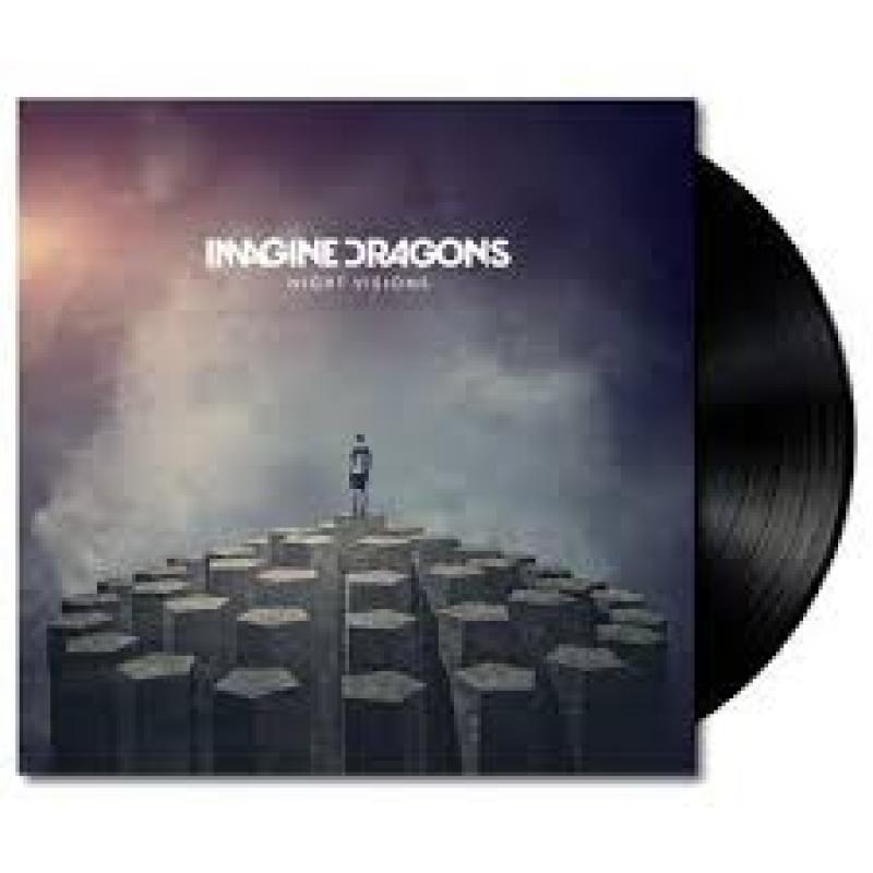 LP Imagine Dragons - Night Visions VINYL IMPORTADO LACRADO