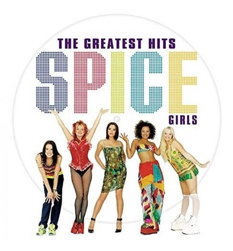 LP Spice Girls - The Greatest Hits VINYL PICTURE IMPORTADO LACRADO