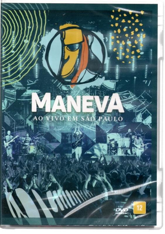 Maneva - Ao Vivo Em Sao Paulo  DVD