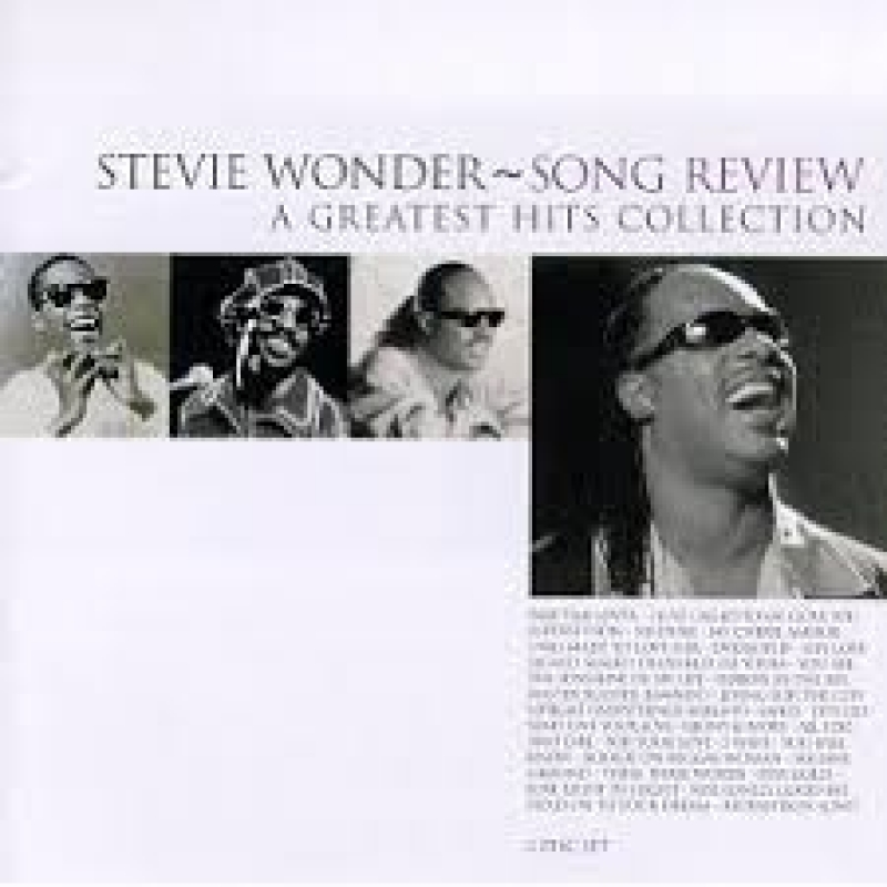 Stevie Wonder - Song Review (A Greatest Hits Collection) (CD)