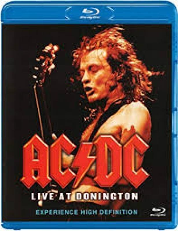 AC DC - Live At Donington BLURAY