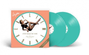 LP Kylie - Step Back In Time The Definitive Collection VINYL VERDE GREEN DUPLO IMPORTADO LACRADO