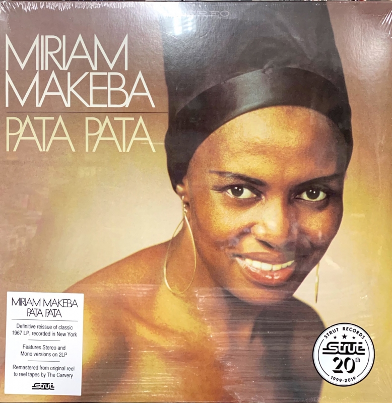 LP Miriam Makeba - Pata Pata (definitive Remastered Edition) VINYL DUPLO IMPORTADO