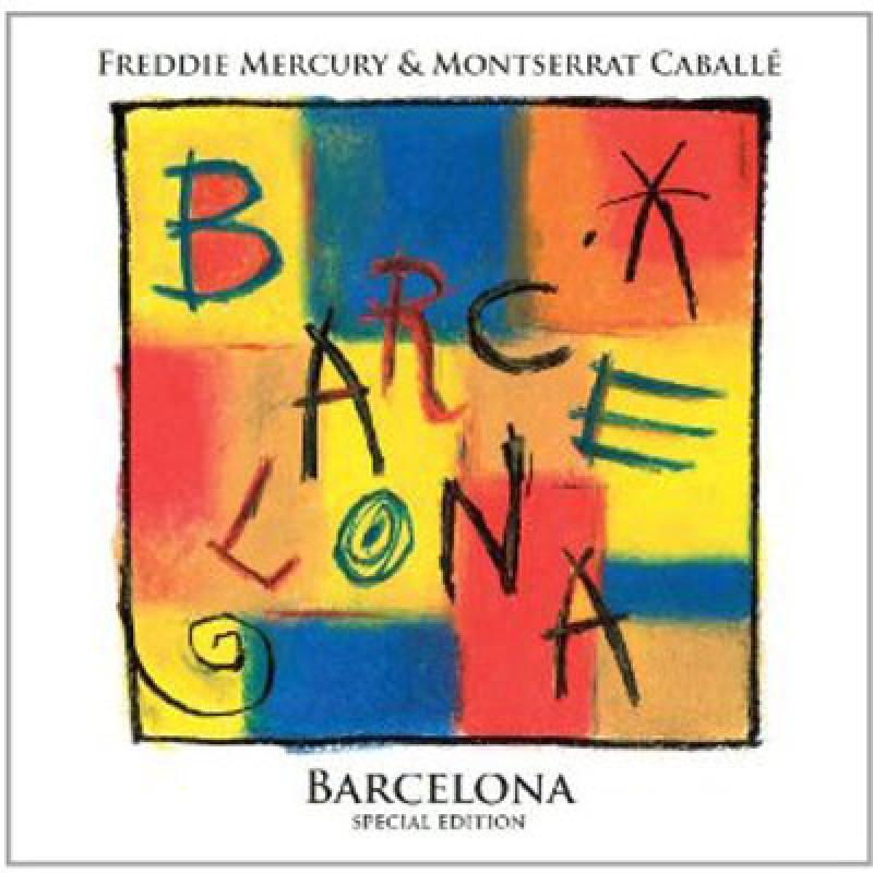 FREDDIE MERCURY - BARCELONA - SPECIAL EDITION CD