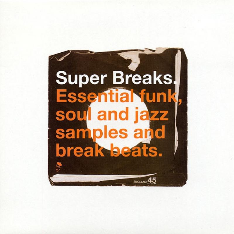 LP Super Breaks  - Essential Funk Soul And Jazz Samples And Break Beats VINYL DUPLO IMPORTADO
