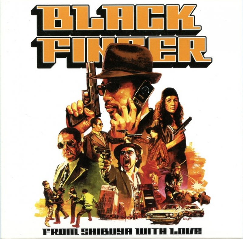 Black Finger - From Shibuya With Love CD