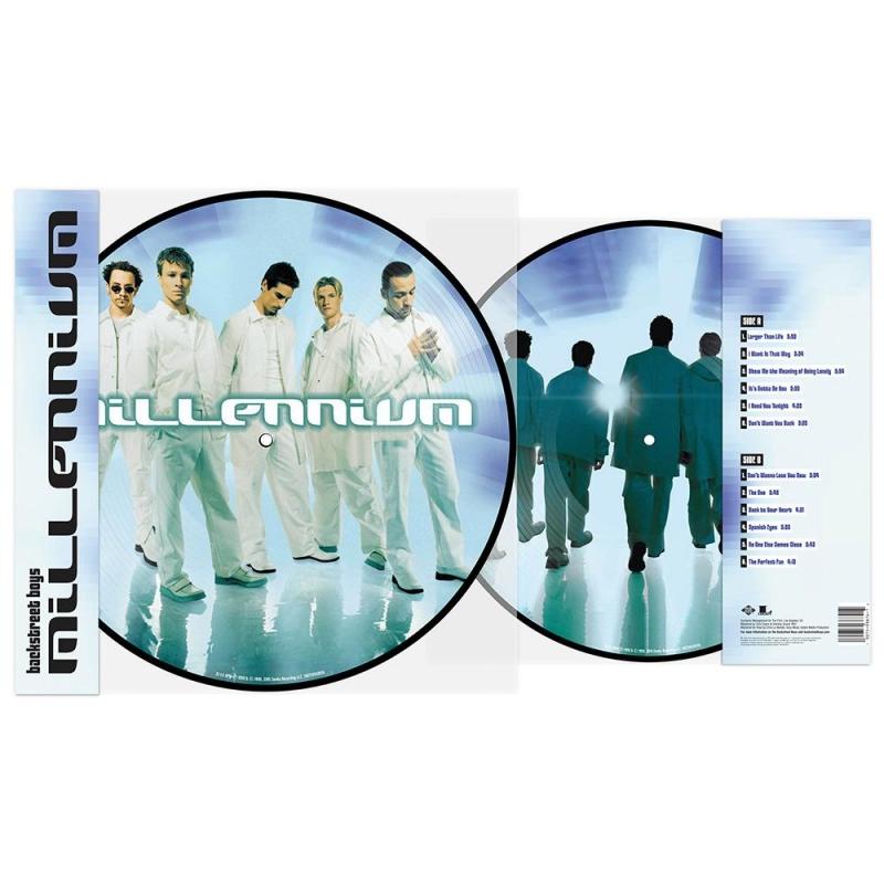 LP Backstreet Boys - Millennium Picture Disc Vinyl LP Anniversary Edition