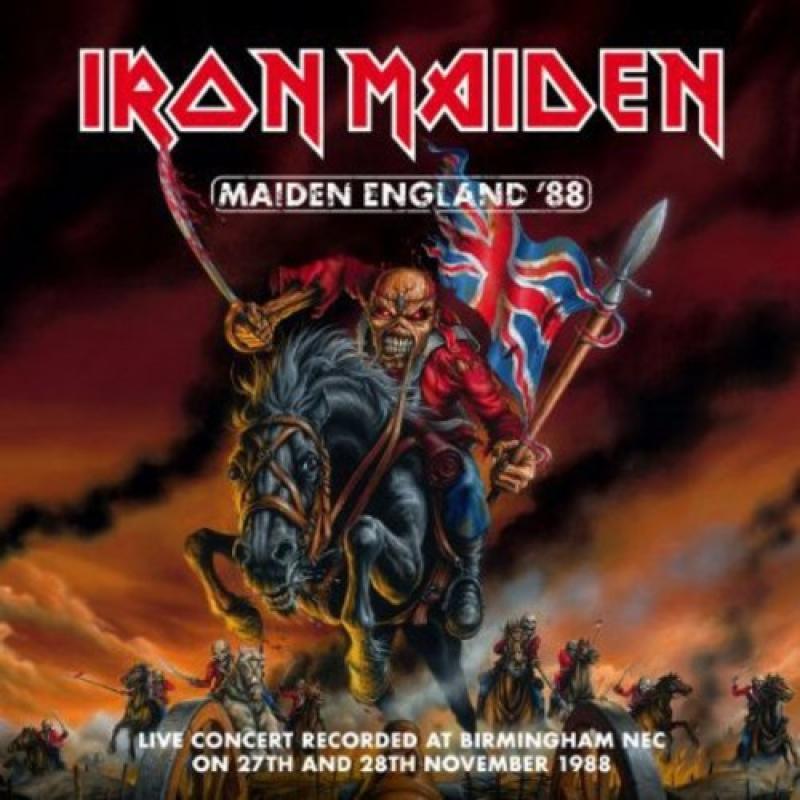 IRON MAIDEN - Maiden England 2CDS IMPORTADO (5099997361527)