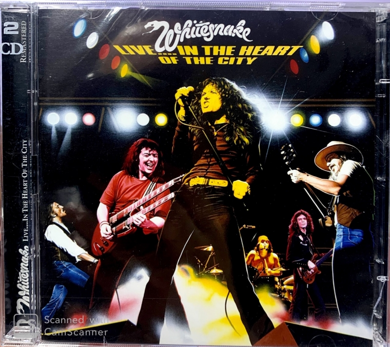 Whitesnake - Live In The Heart Of The City 2CD IMPORTADO (094638195924)