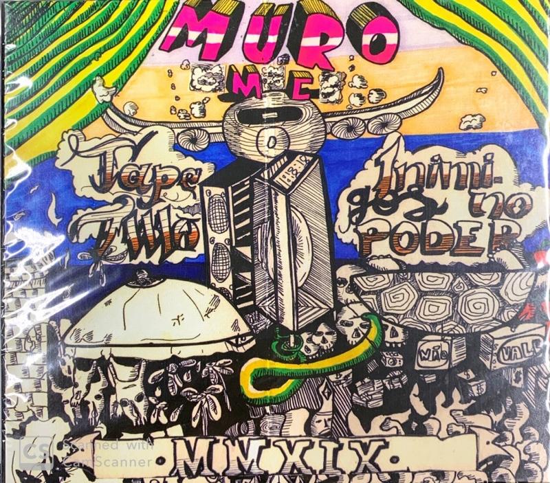 MURO MC - TAPE TWO INIMIGOS NO PODER (CD)
