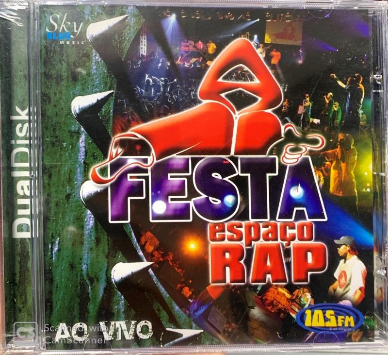 Festa Espaco Rap Ao Vivo CD E DVD (DUALDISK)