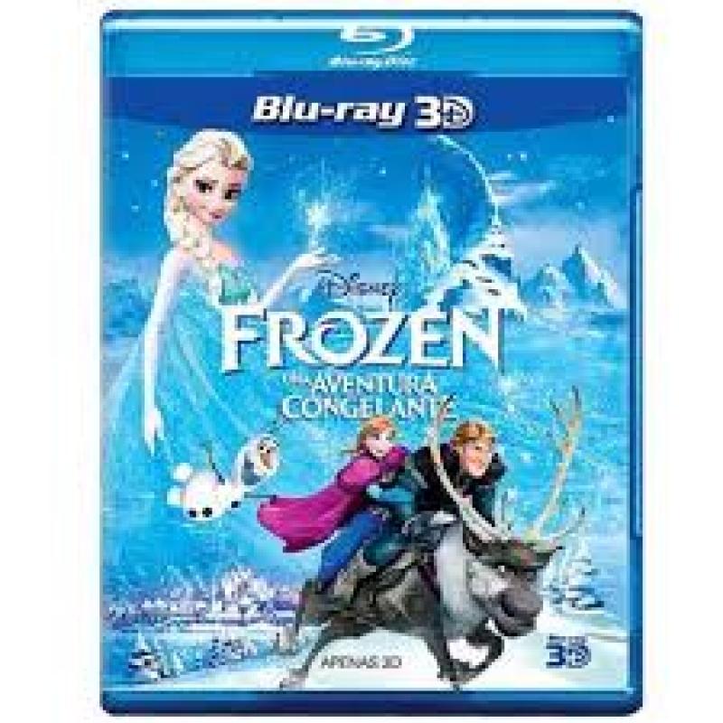 Frozen - Uma Aventura Congelante BLURAY 3D