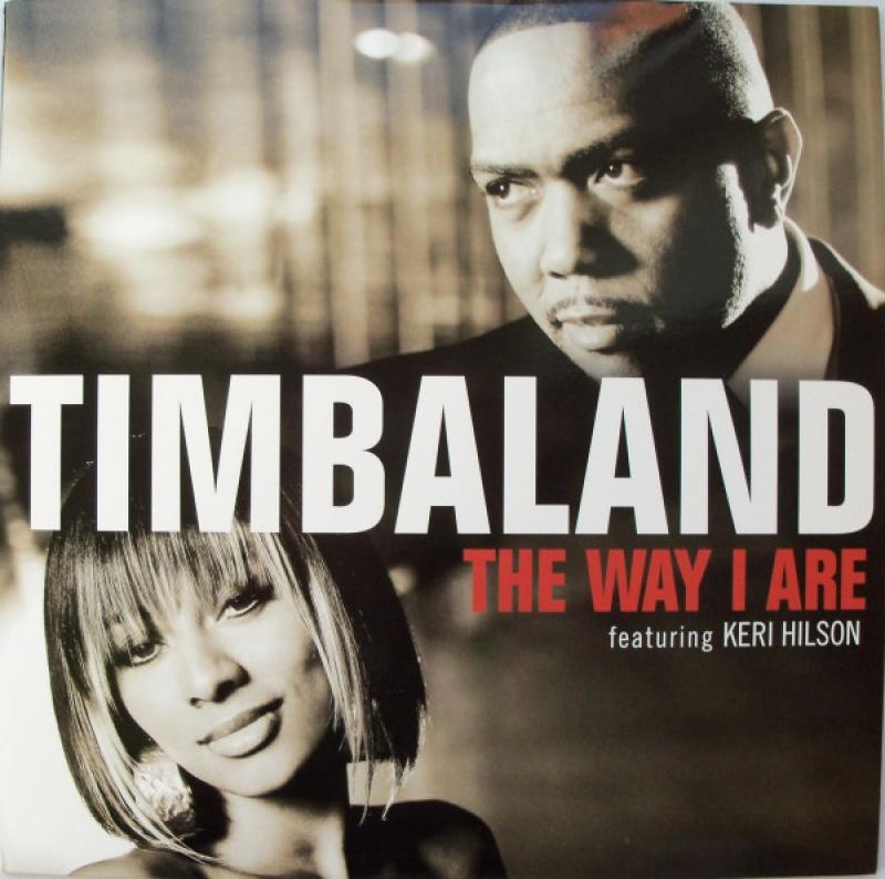 LP Timbaland Featuring Keri Hilson - The Way I Are VINYL SINGLE