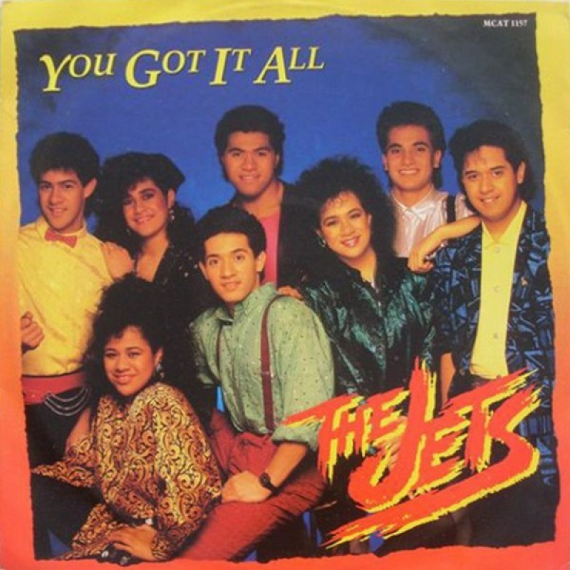 LP The Jets - You Got It All VINYL SINGLE