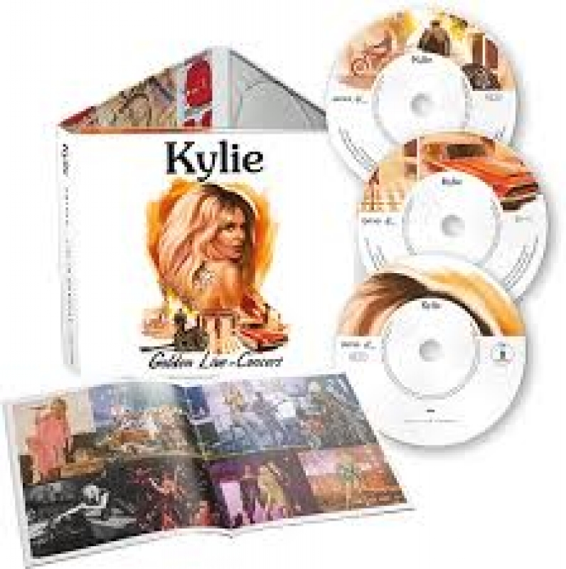 Kylie MINOGUE - Golden - Live In Concert CD E DVD IMPORTADO LACRADO 4050538553376
