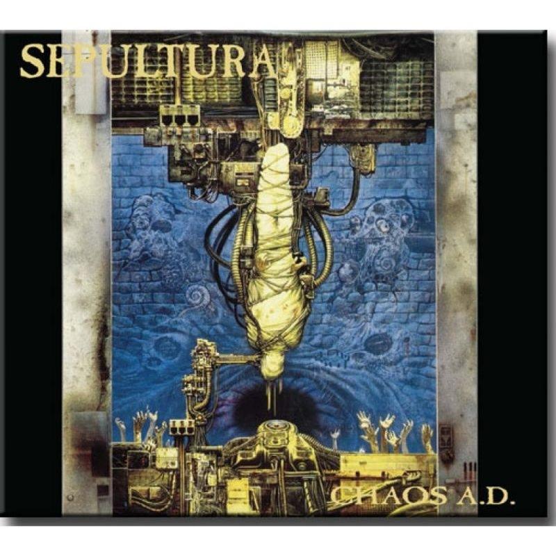 Sepultura - Chaos Ad (cd duplo-digipack) (081227934255)