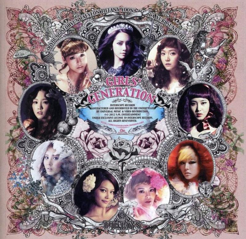 Girls Generation - The Boys (CD) (602527935799)
