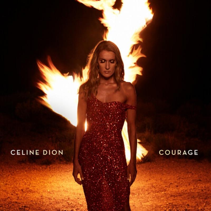 CELINE DION - Courage (CD) (190759524824)