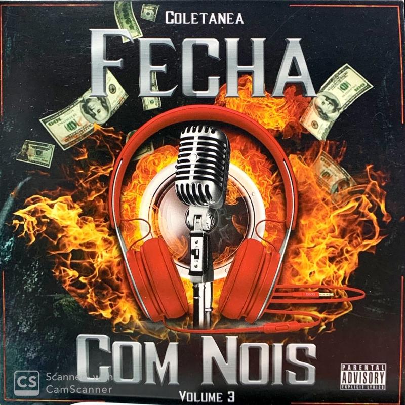 FECHA COM NOIS VOL 3 - COLETANEA RAP NACIONAL (CD)