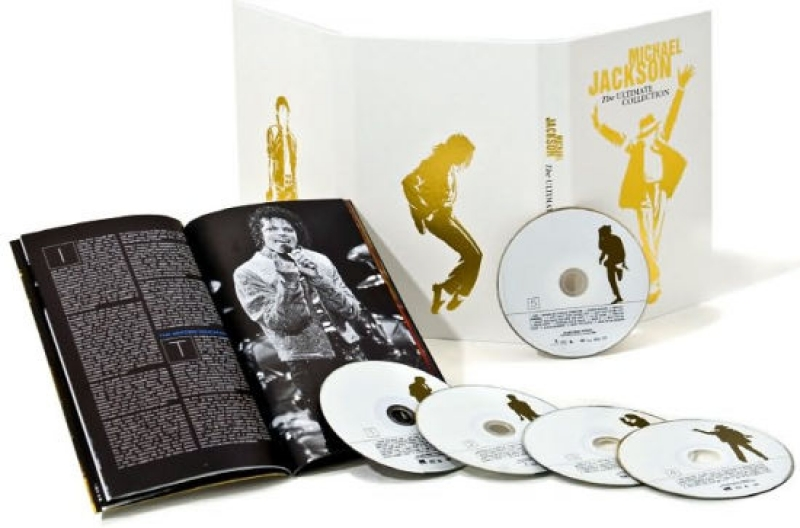 Michael Jackson - The Ultimate Collection BOX 4CDS 1 DVD 1 LIVRO  IMPORTADO LACRADO