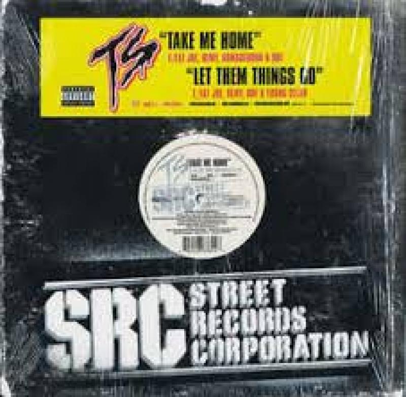LP TERROR SQUAD - Take Me Home e Let Them Things Go VINYL SINGLE