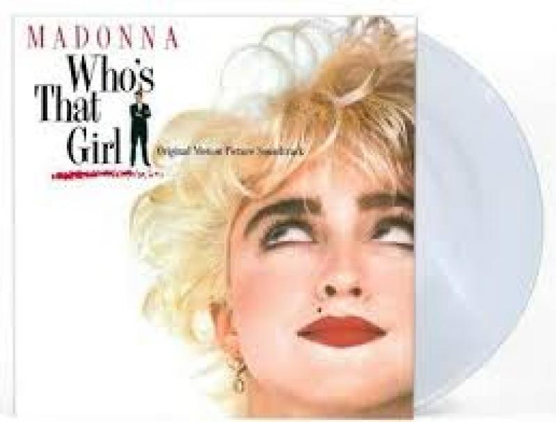 LP MADONNA - Whos That Girl VINYL CLEAR IMPORTADO LACRADO
