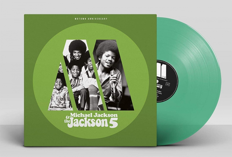 LP Michael Jackson & The Jackson 5 - Motown Anniversary Michael Jackson e The Jackson  LP (Green Vin