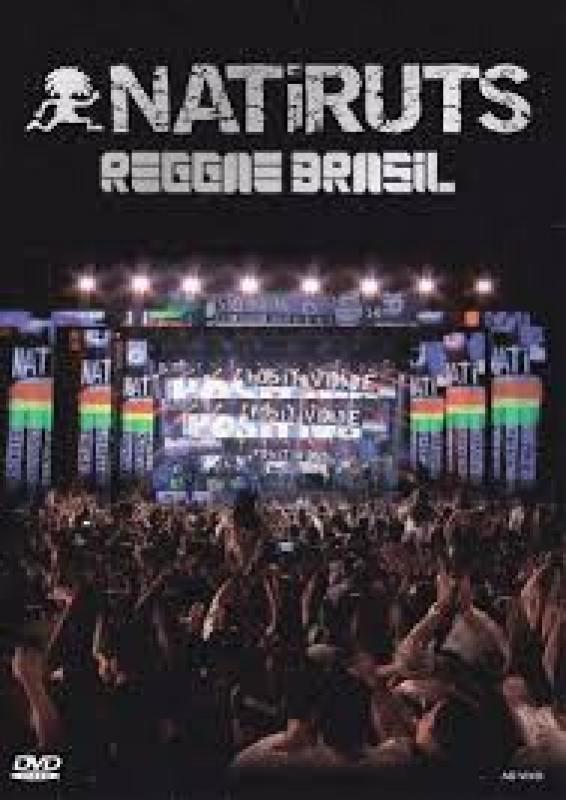 Natiruts - Reggae Brasil ao Vivo DVD e CD Digipack EDICAO Limitada
