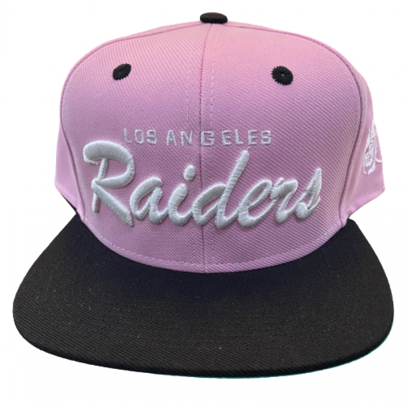BONE LOS ANGELES RAIDERS - ROSA E PRETO
