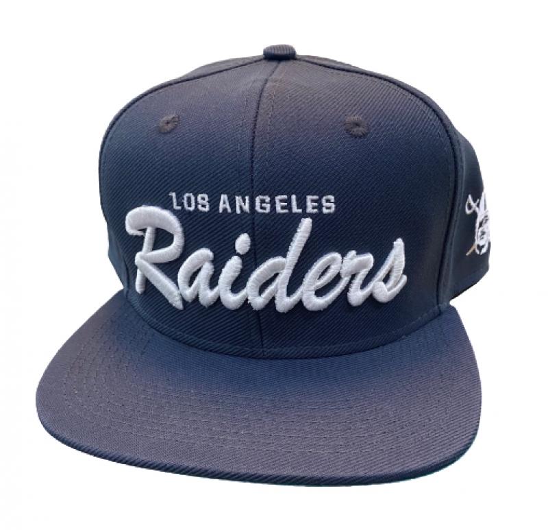 BONE LOS ANGELES RAIDERS - AZUL ESCURO