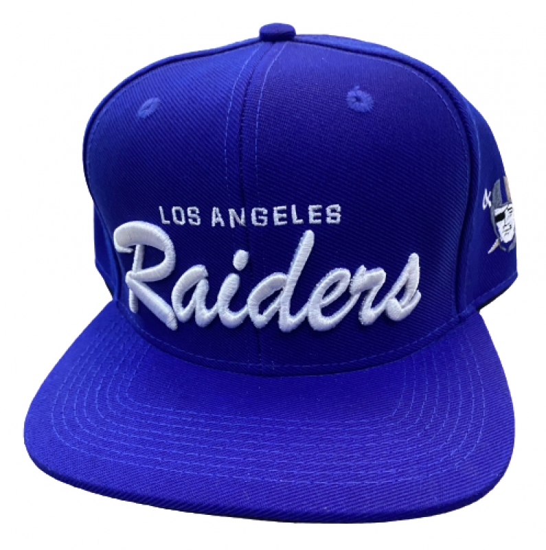 BONE LOS ANGELES RAIDERS - AZUL