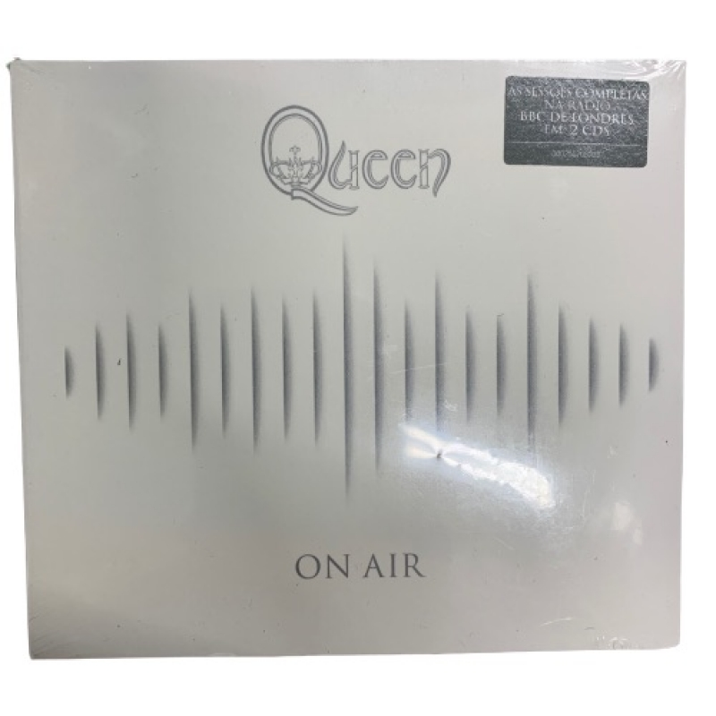 QUEEN - ON AIR CD DUPLO LACRADO