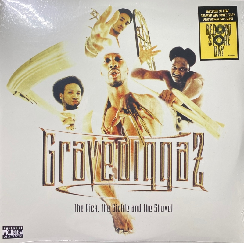 LP Gravediggaz - The Pick The Sickle & The Shovel (VINYL DUPLO White Vinyl)