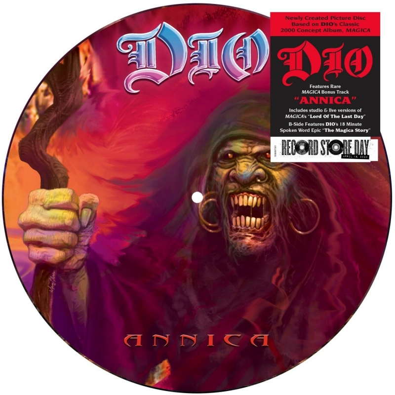 LP Dio - Annica LP Picture Disc Limited Edition RSD Drops 2020 Record Day