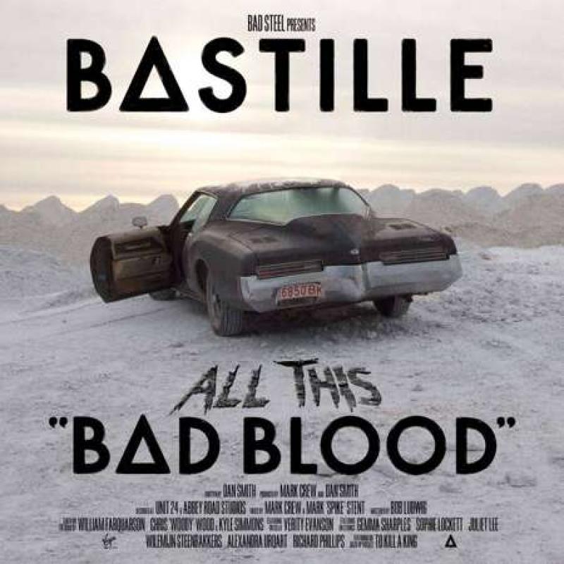 LP BASTILLE - All This Bad Blood 2LP Vinyl RSD 2020