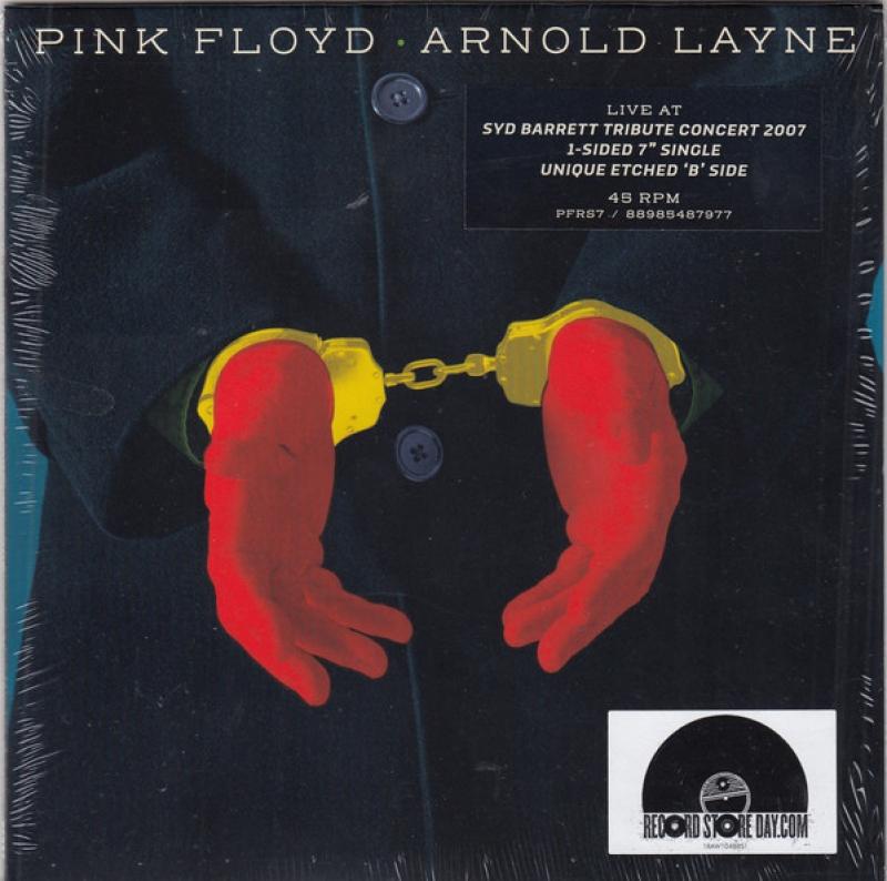 LP Pink Floyd - Arnold Layne VINYL 7 POLEGADA 45RPM RECORD STORE DAY 2020