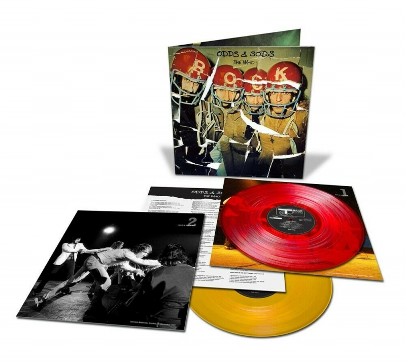 LP THE WHO - Odds and Sods (Deluxe) 2LP Vinyl RSD 2020 LACRADO