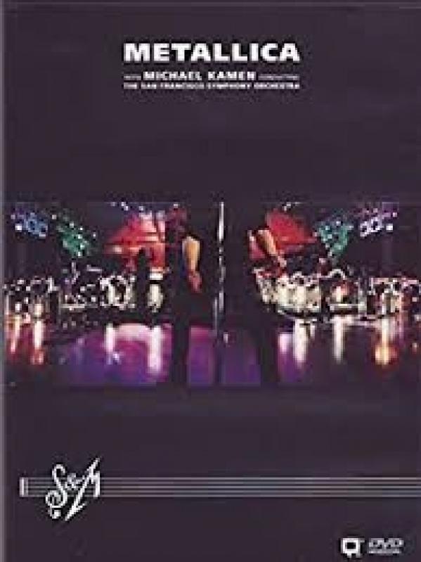 Dvd Metallica - S M San Francisco Symphony Orchestra Duplo