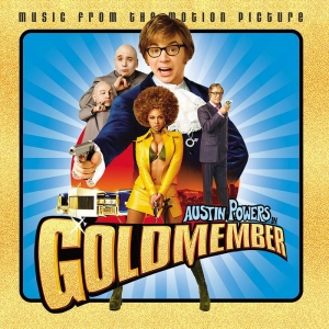 LP Austin Powers in Goldmember - SOUNDTRACK VINYL GOLD RSD 2020 LACRADO