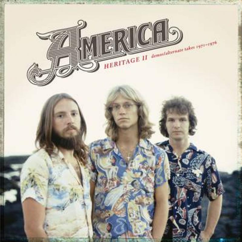 LP AMERICA - HERITAGE II DEMOS ALTERNATE TAKES 1971 1976 VINYL RSD 2020 LACRADO