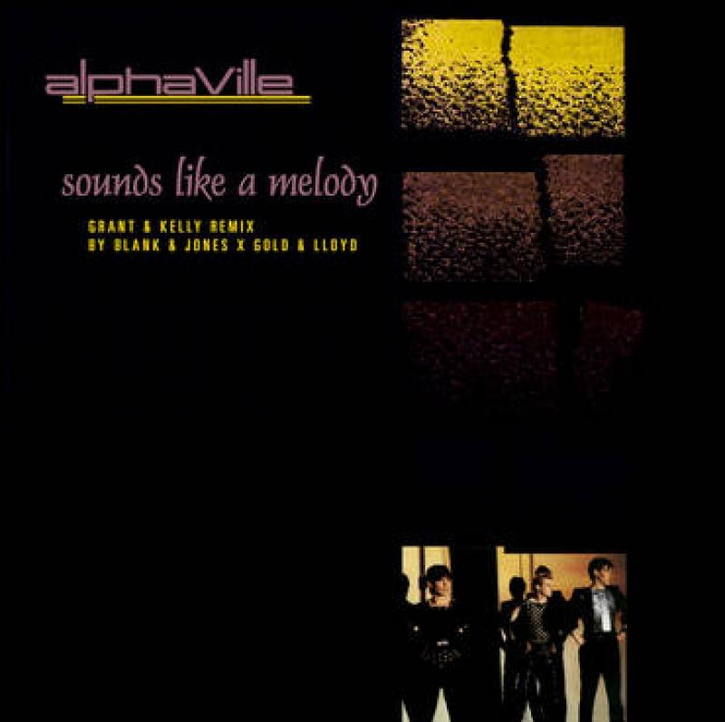 LP ALPHAVILLE - Sounds Like A Melody VINYL AMARELO RSD 2020 LACRADO