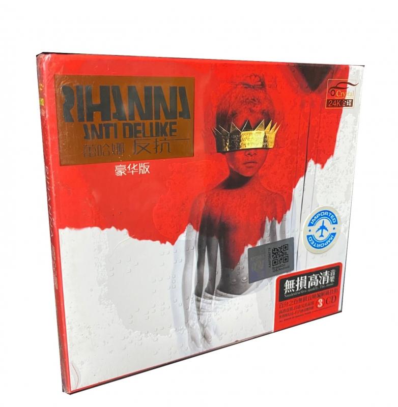 BOX RIHANNA - ANTI DELUXE 3 CDS IMPORTADO LACRADO