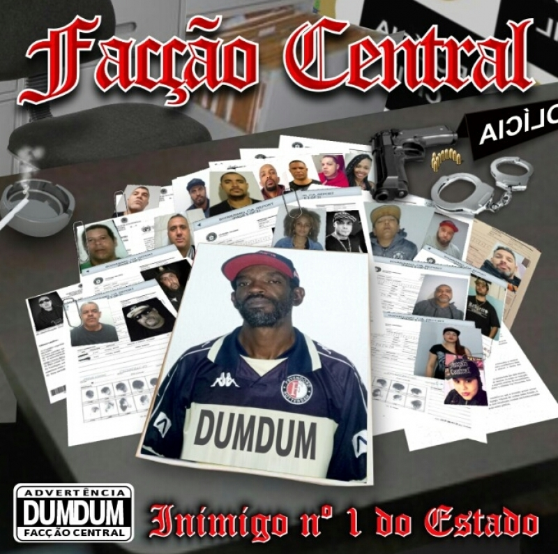 Faccao Central - Inimigo N 1 Do Estado CD